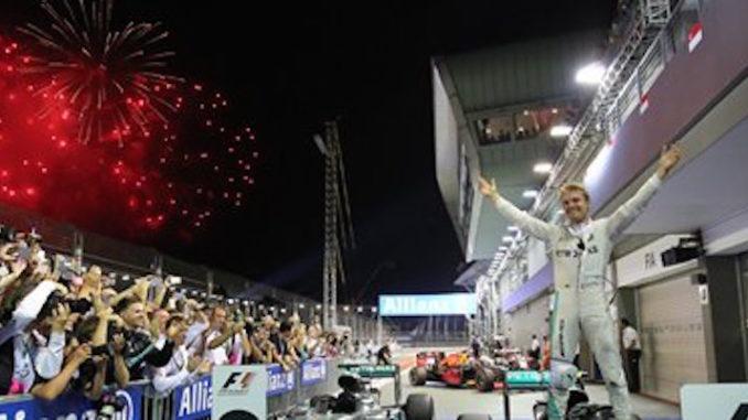 Circuito Callejero De Marina Bay : F1: alemán nico rosberg de mercedes gana gp de singapur la