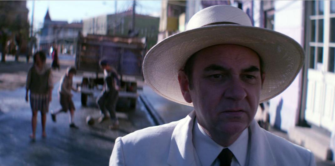 'Neruda', película del director chileno Pablo Larraín. AP
