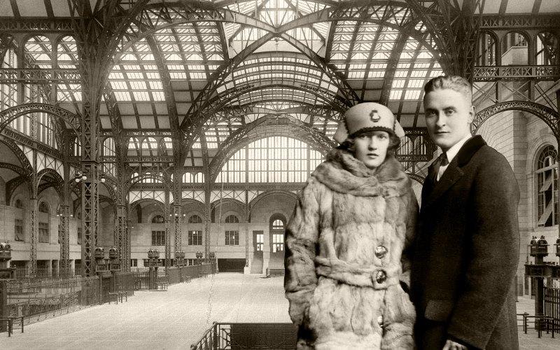 F Scott Fitzgerald And Zelda Wedding Vida de novelista Zeld...