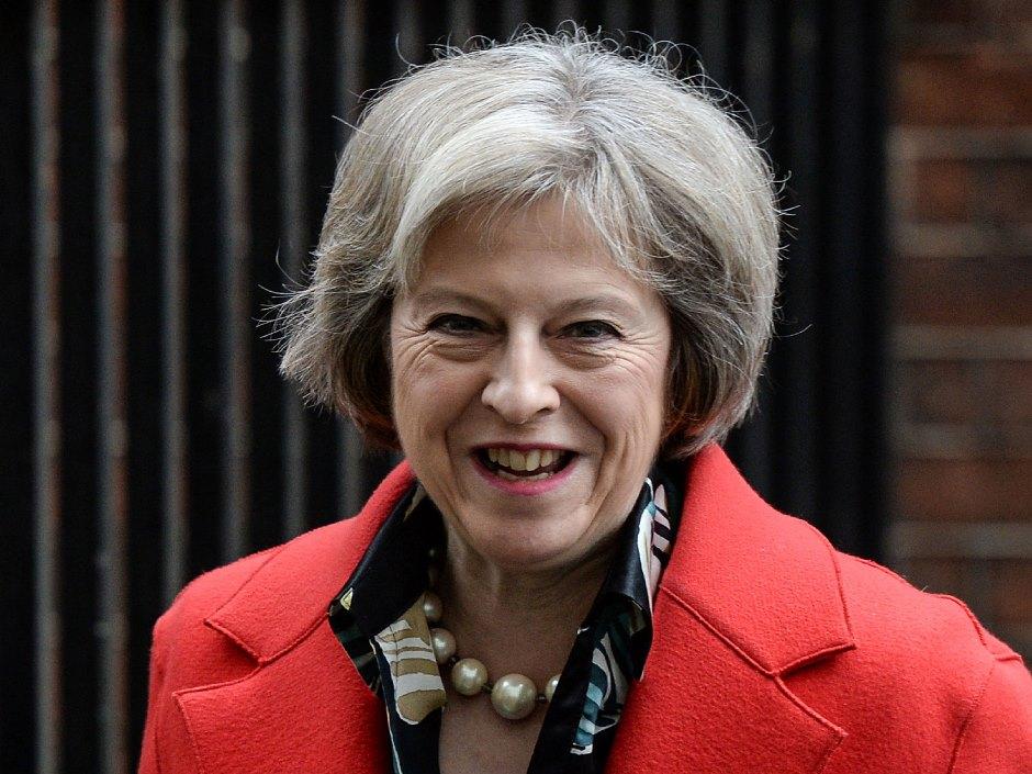 Theresa Mau, primera ministra del Reino Unido.