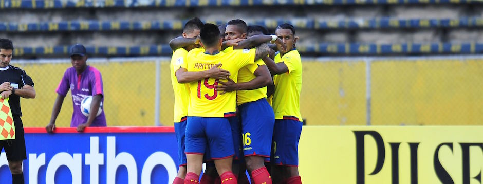 ECUADOR - QUITO(2016/10/06) Ecuador vs Chile por las eliminatorias al mundial de Rusia 2018. FOTOS API / JUAN CEVALLOS.
