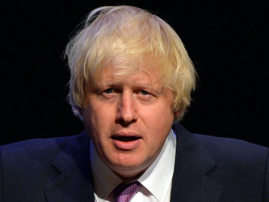Boris Johnson, Secretario de Asuntos Exteriores del Reino Unido.