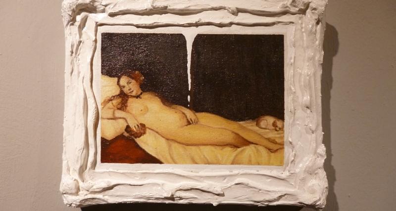 """Desborde al desnudo"", de Pedro Gavilanes."