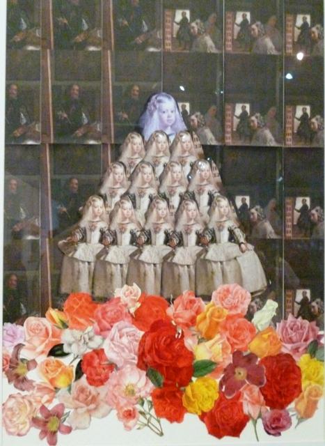 Las obras de Flavio Álava se destacan por el fino uso de la técnica del collage. Sus cuadros actúan como contenedores de las más famosas pinturas del arte occidental, que también pueden ser leídas como una crítica al consumo capitalista y al masivo turismo de occidente.