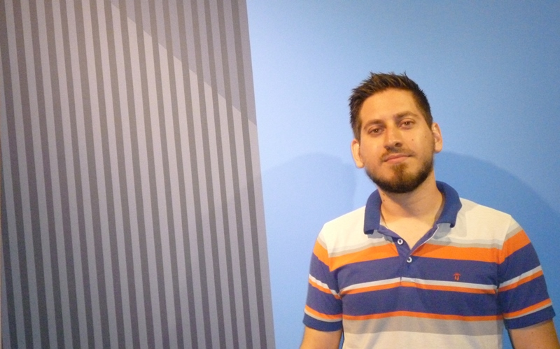 David Orbea, en dpmgallery el 8 de noviembre, foto larepublcia.ec