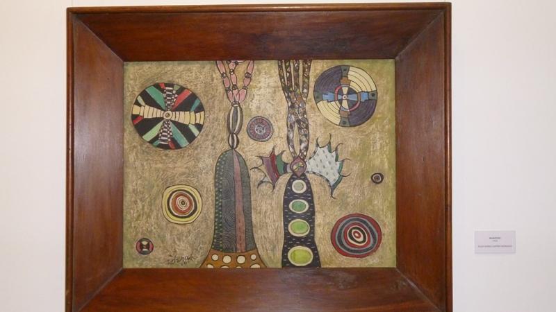 Obra de la Colección Latinoamericana de Tábara en el MAAC