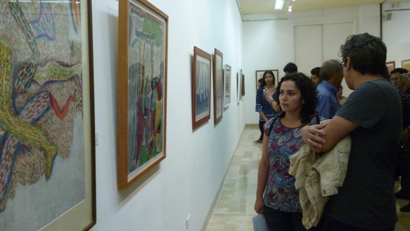 Público MAAC exposición de Tábara