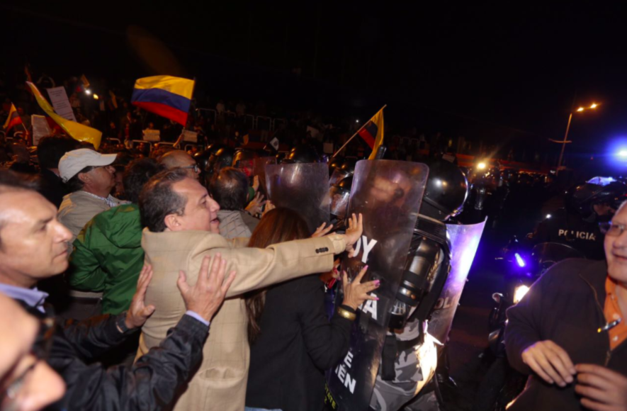 protestas en Quito Plusvalía