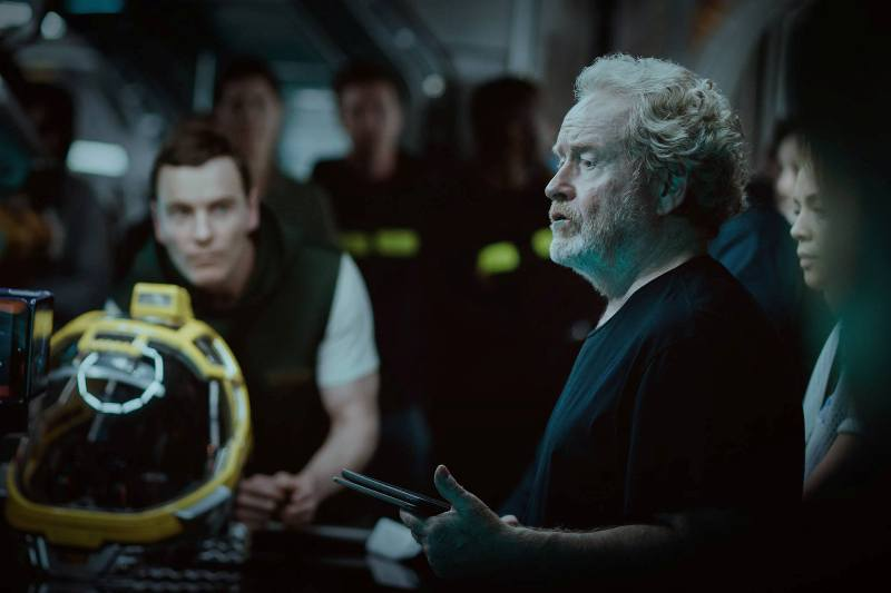 """Alien: Covenant"" de Ridley Scott, foto collider.com"