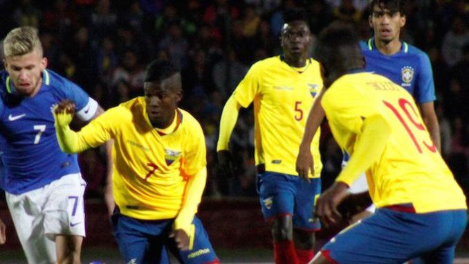 Brasil Sub 20: Sub 20: Ecuador Vence A Paraguay Y Clasifica