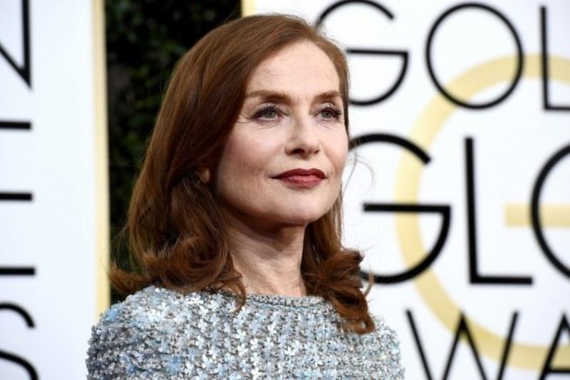 Isabelle Huppert ganadroa mejor actriz dramática en Globos de Oro 2017. Foto popcrush.com