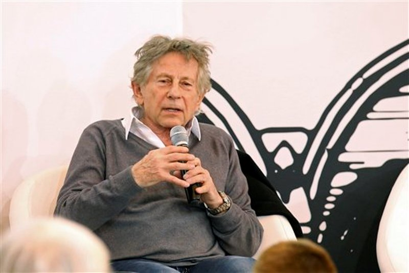 Roman Polansky con micrófono