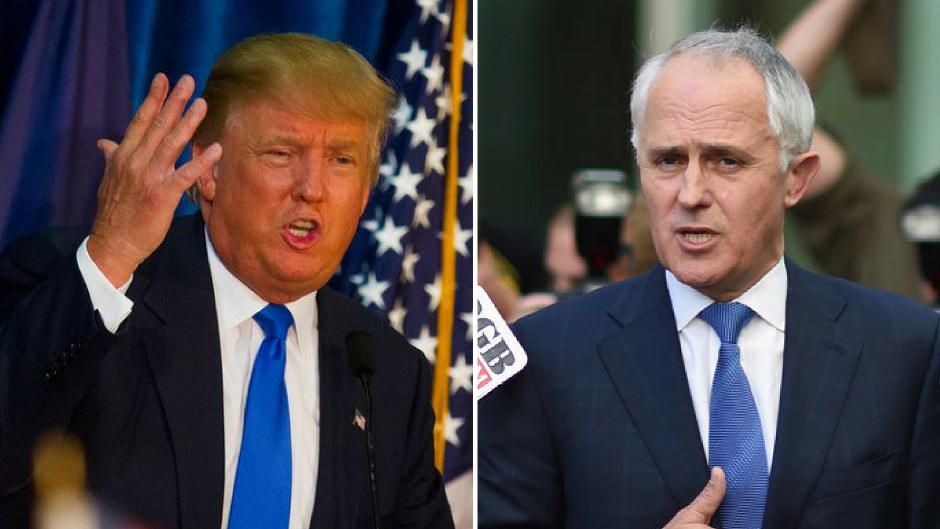 Resultado de imagen para Trump dijo Turnbull: