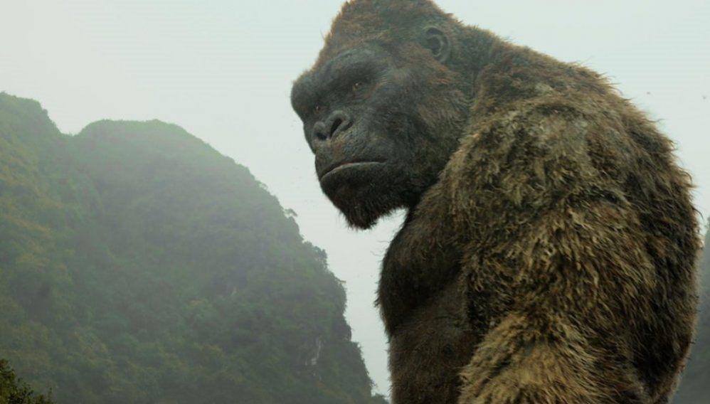 King Kong gigante isla calavera