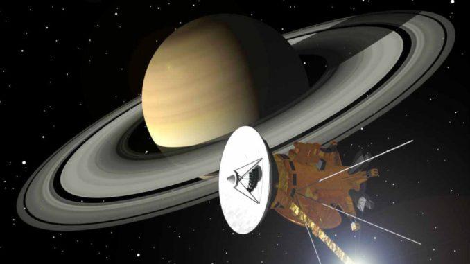 La sonda Cassini se desintegra en la atmósfera de Saturno | La República EC