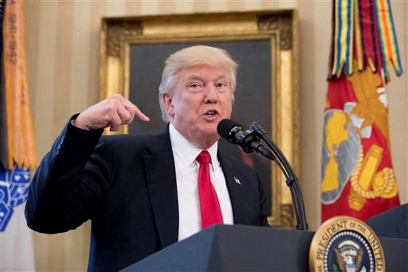 Trump oficina oval comercio