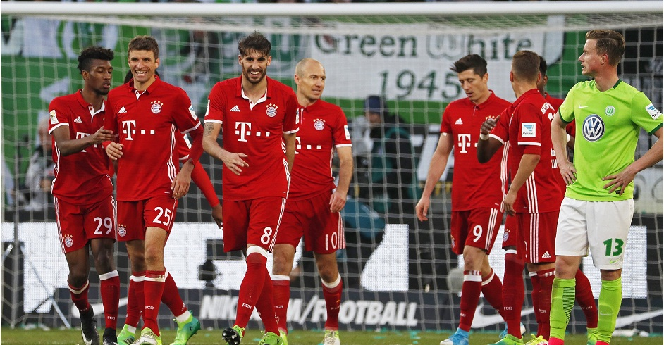 VfL Wolfsburg vs Bayern Munich