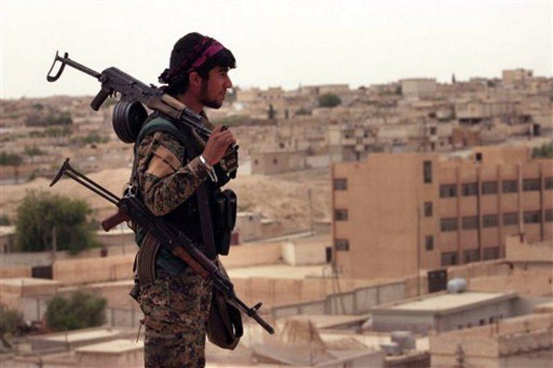 Fuerzas democráticas sirias combatientes