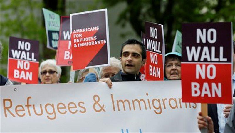 Trump refugiados