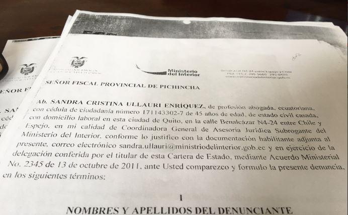 Confirman que ministerio del interior ha pedido investigar for Twitter ministerio del interior ecuador