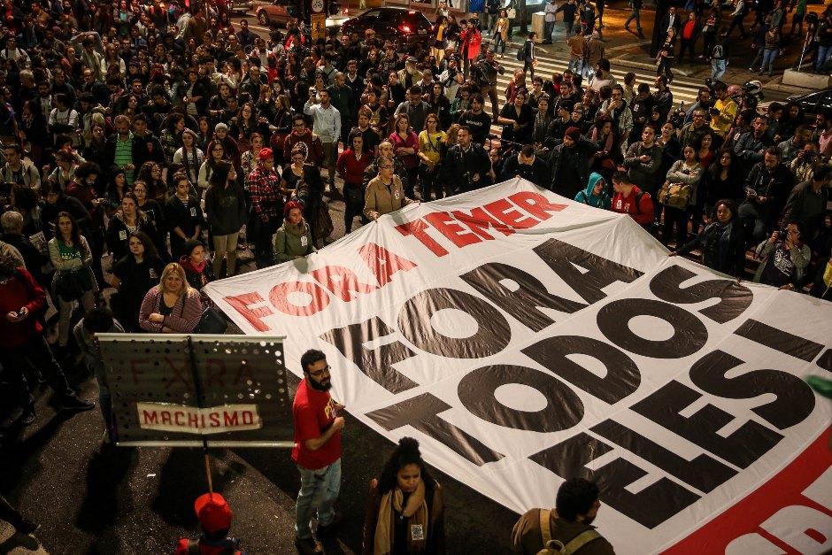 Miles de brasileños se movilizan en las calles contra el Gobierno de Temer