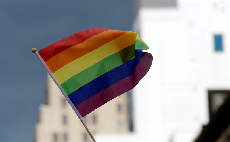 Bandera LGBT NYC
