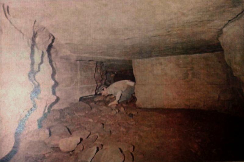Cueva de los tayos hombre adentro