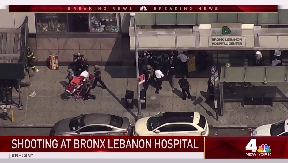 NUEVA YORK-HOSPITAL-TIROTEO