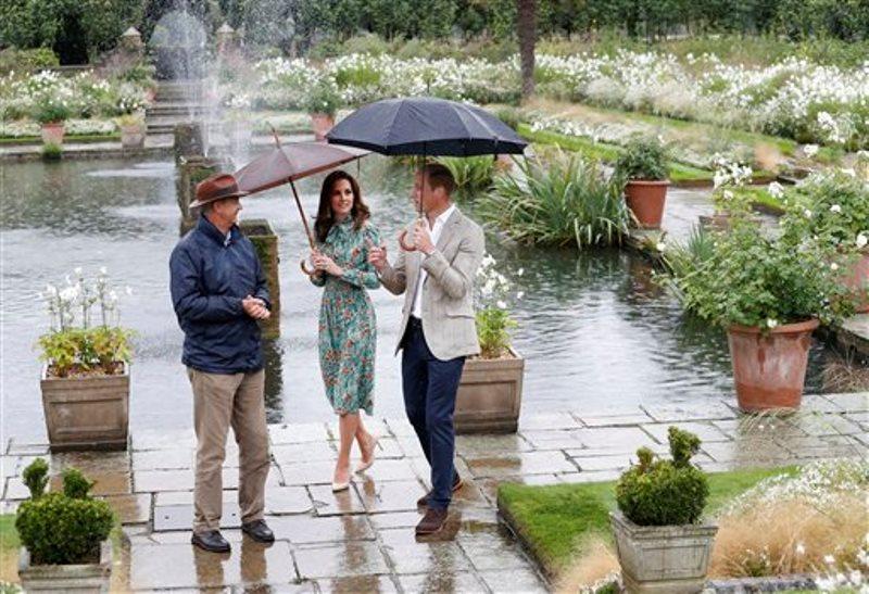Diana de Gales jardin