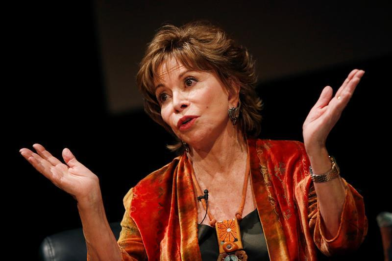 Isabel Allende visita chile