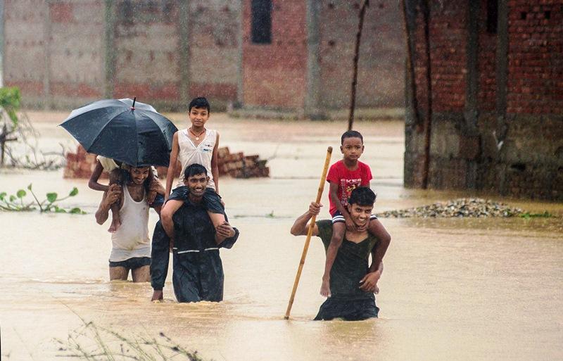 NEPAL INUNDACIONES