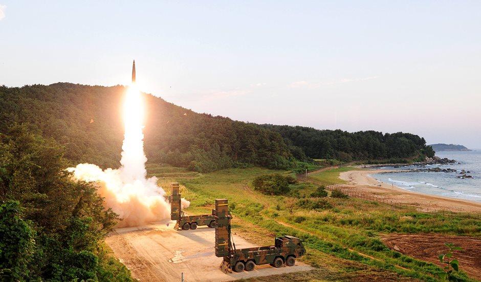 South Korea holds ballistic missile drill against North Korea nuke test