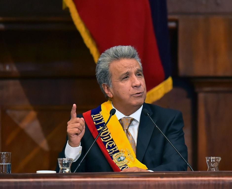 ECUADOR-MORENO-INAUGURATION