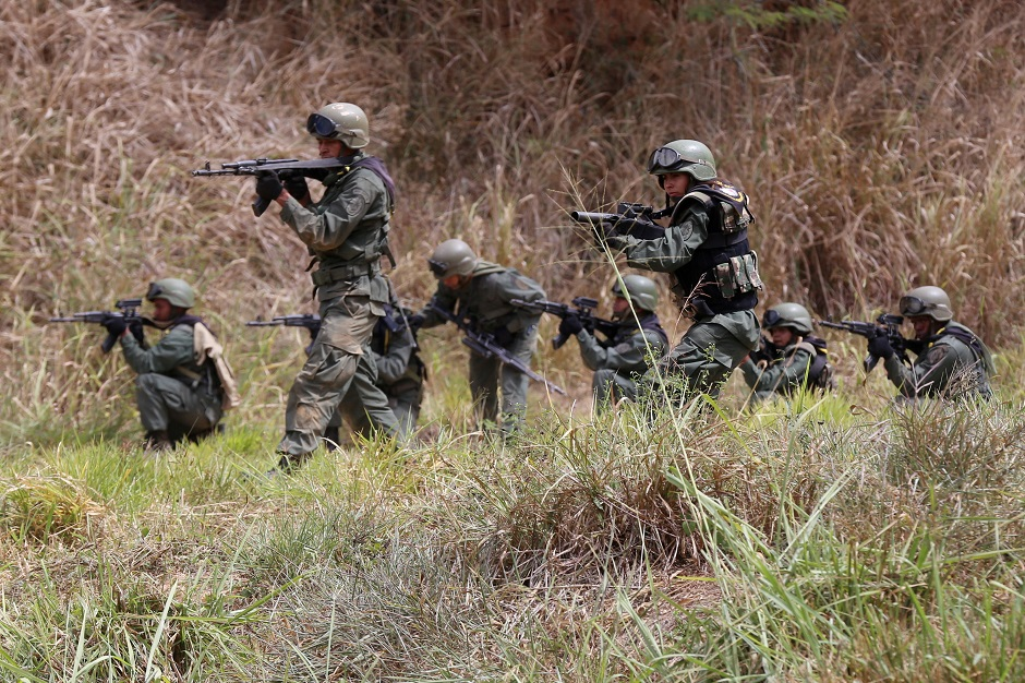 Venezuela inicia ejercicios militares para preparar al pueblo para «defensa»