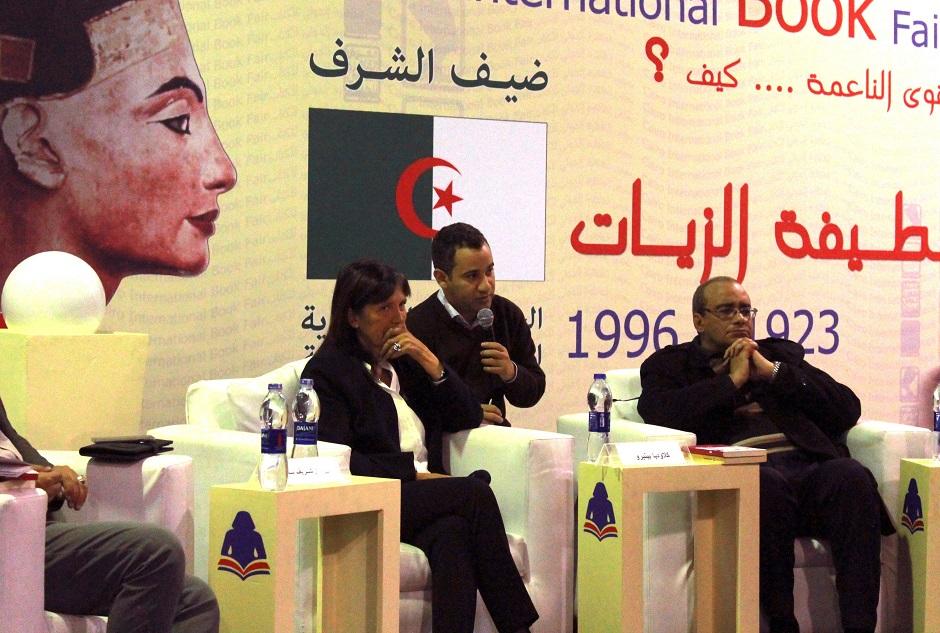 Claudia Piñeiro presenta por primera vez en Egipto su obra traducida al árabe