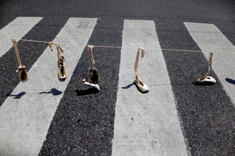 Argentina-Ballet Protesta