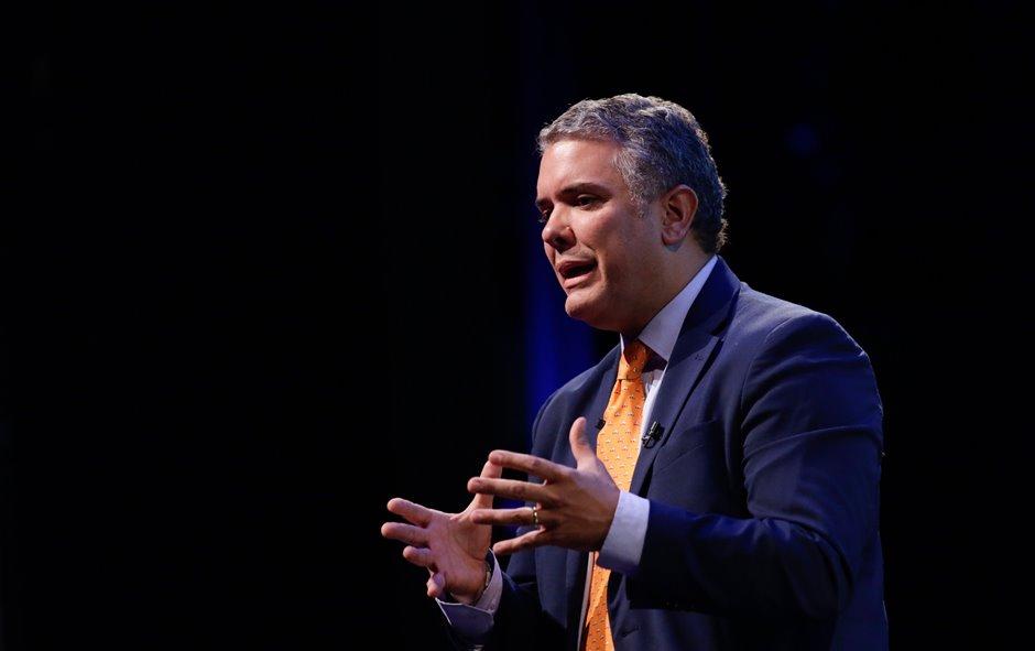 Candidatos presidenciales colombianos asisten a foro en Nueva York