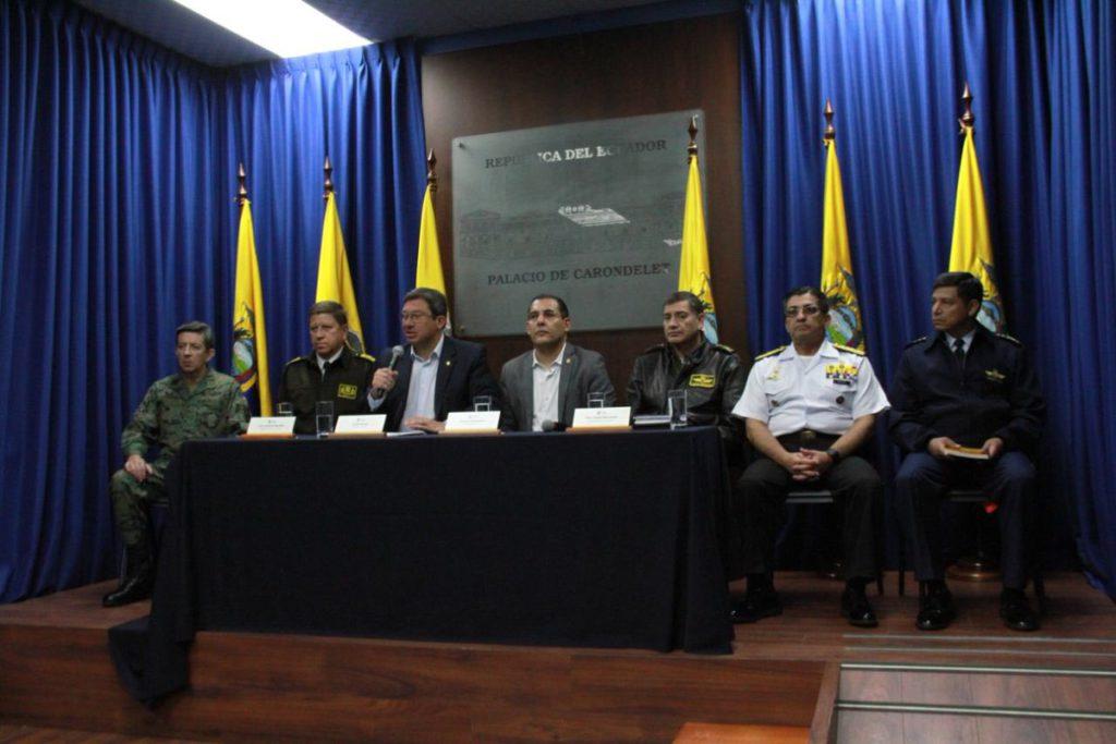 Ministerio del interior confirma secuestro de periodistas for Ministerio del interior ecuador