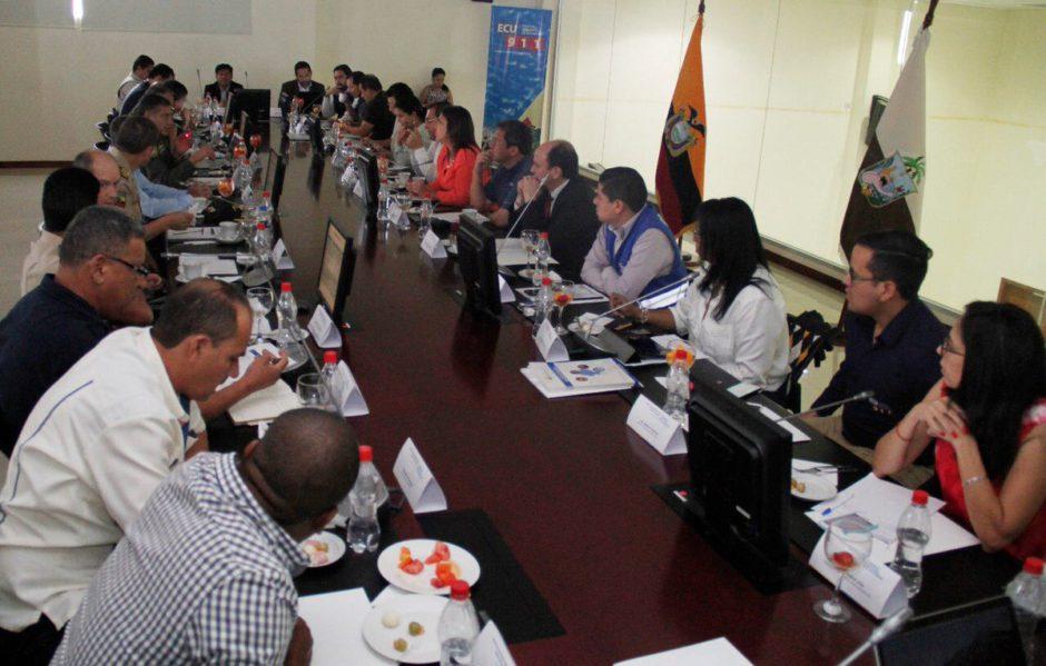 Gabinete intersectorial de seguridad territorial se for Twitter ministerio del interior ecuador