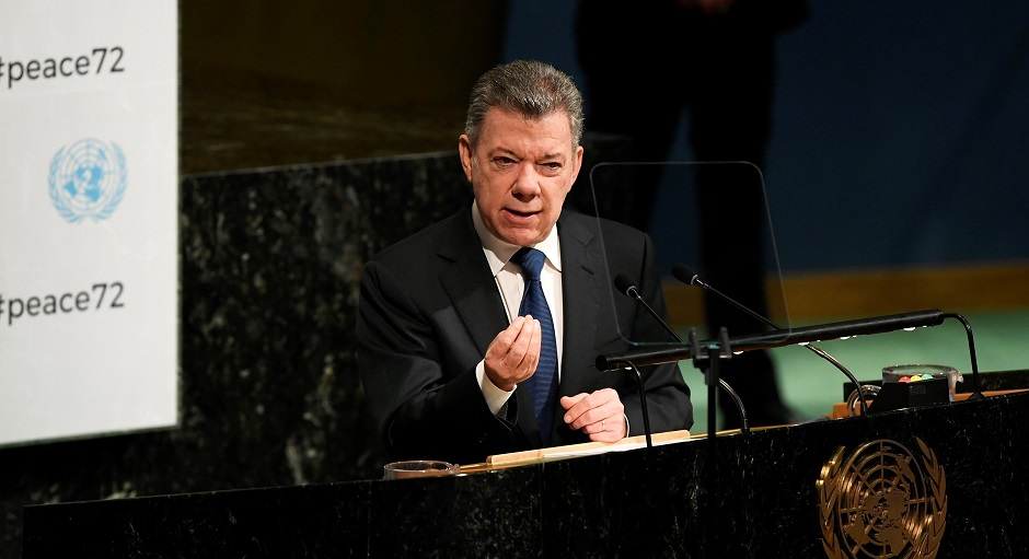 Santos dice que Colombia demuestra que es posible sanar heridas del conflicto