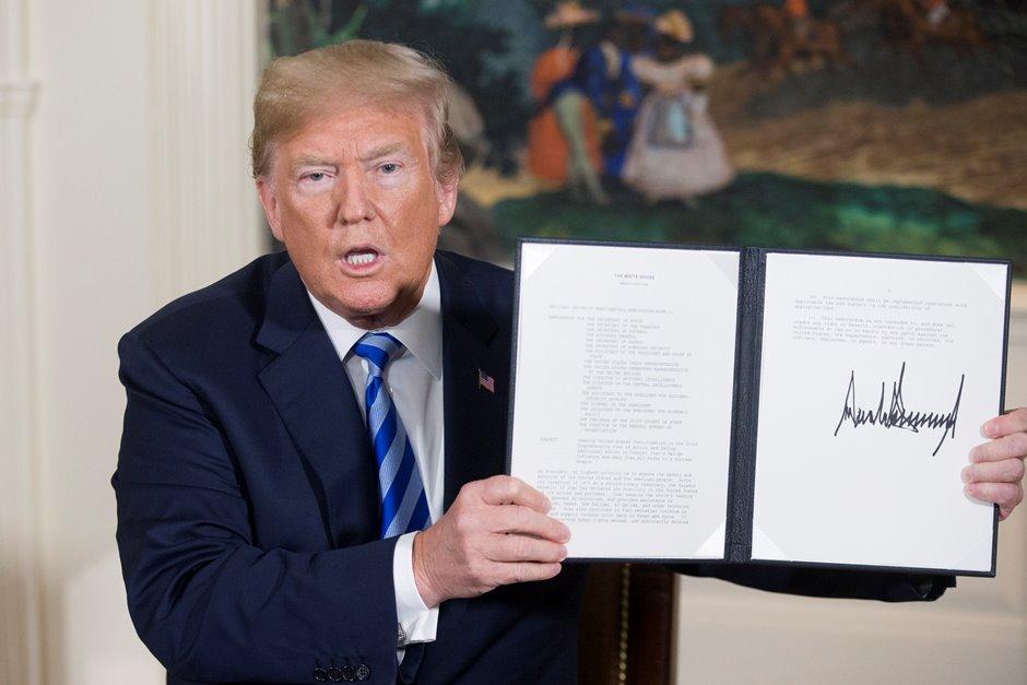 Trump dice que hay «pruebas» de que Irán mintió sobre su programa nuclear
