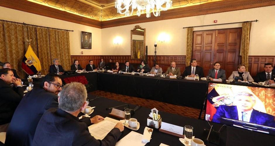 Moreno transforma ministerio del interior en uno de for Ministerio interior y policia