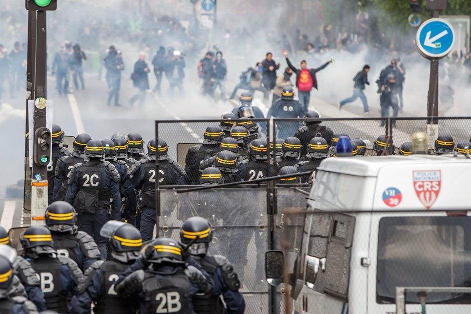 Día Internacional del Trabajador en Francia