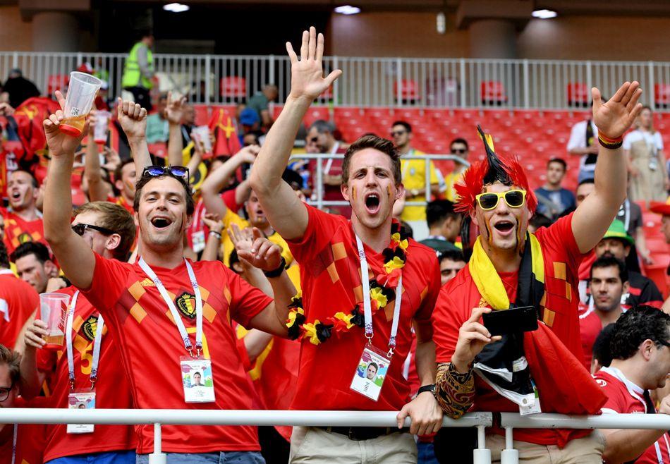 Group G Belgium vs Tunisia