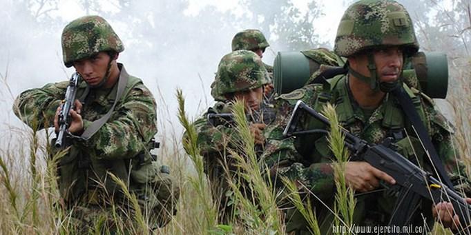 militares colombianos foto