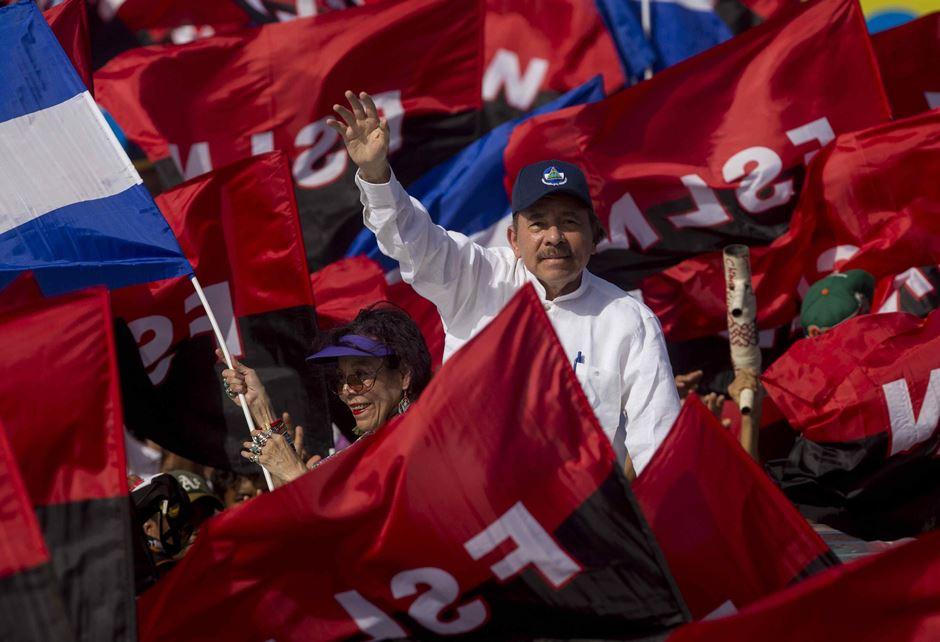 Miles de personas acuden a Plaza de la Fe a celebrar revolución de Nicaragua