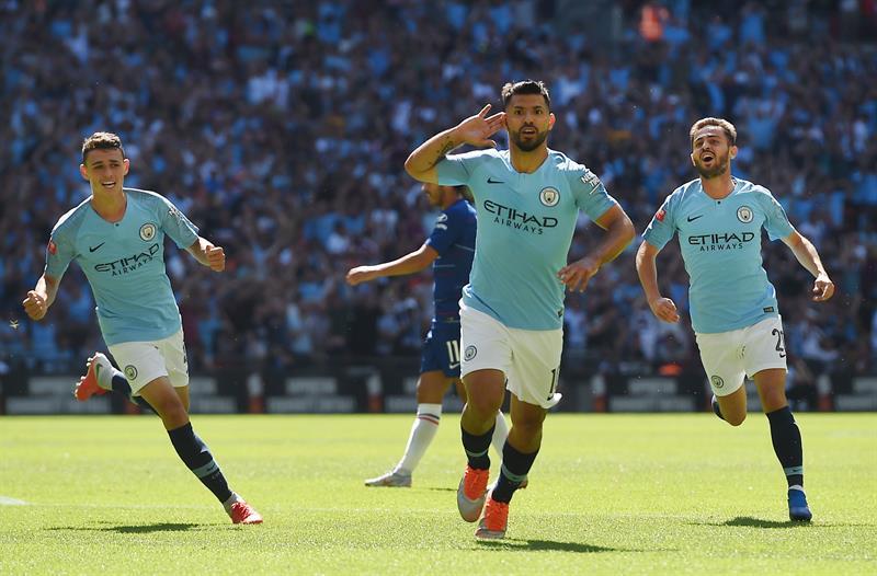 Manchester City se coronó campeón de la Community Shield