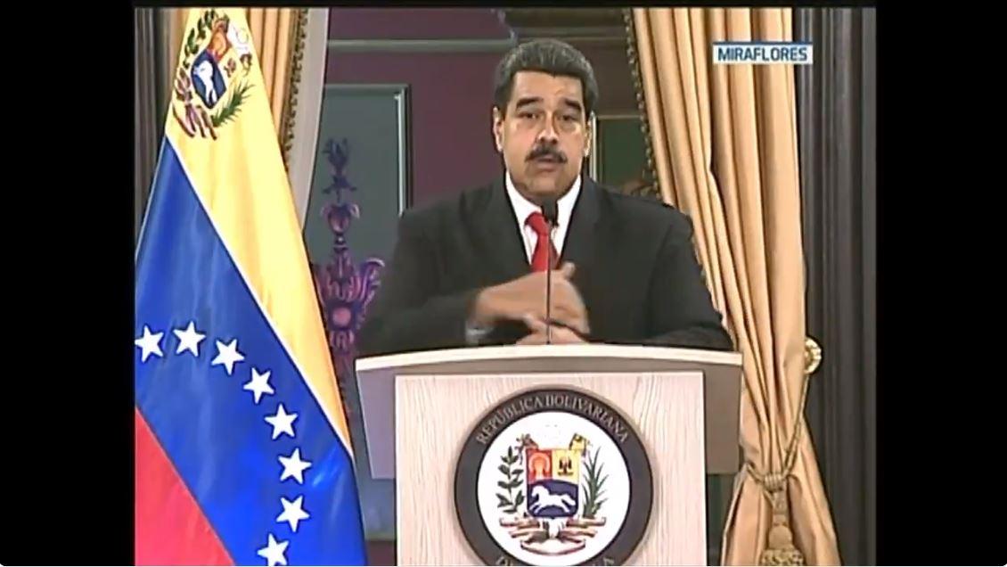 Maduro reaparece