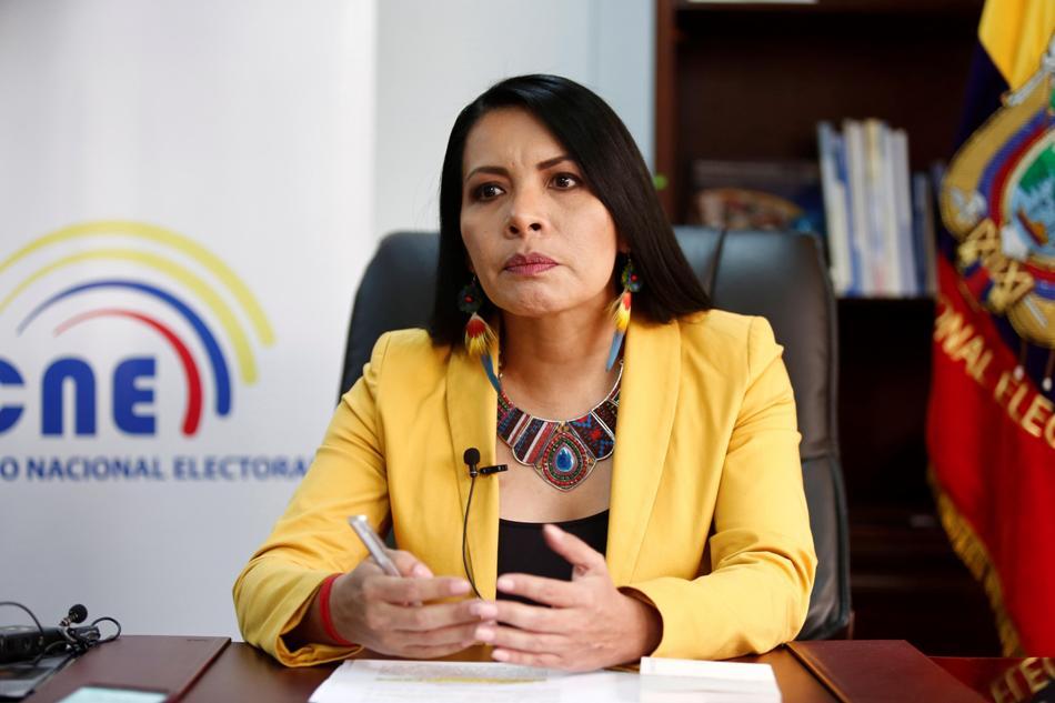 Una indígena ocupa por primera vez un alto cargo electoral en Ecuador