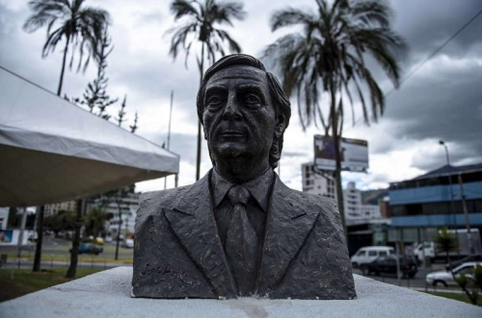 busto de kichner plaza argentina